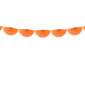Ghirlanda rozete portocaliu