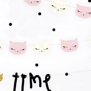 Ghirlanda decorativa pisicute