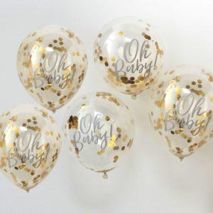 Baloane confeti oh baby
