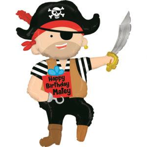 Balon figurina pirat