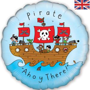 Balon tematica pirat