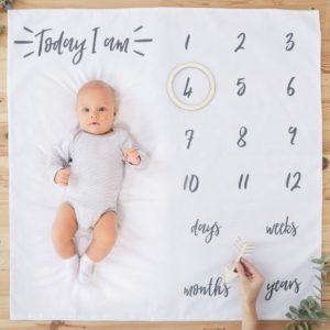 Paturica calendar bebe
