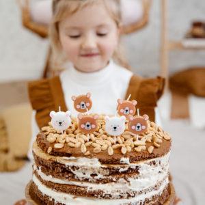 Lumanari tort ursuleti