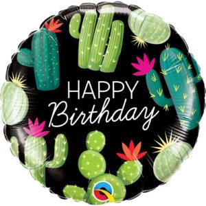 Balon folie cactus