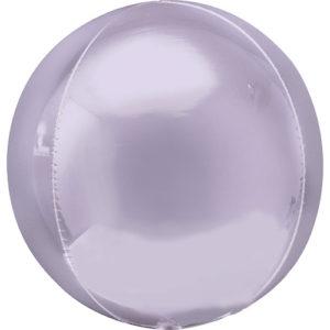 Balon folie Orbz lila pastel