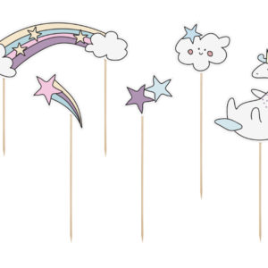 Cake toppers unicorn