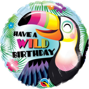 balon folie tropical birthday