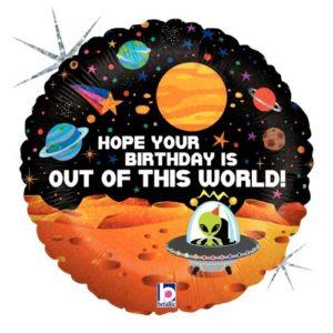 Balon folie planete