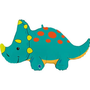 balon folie triceratops