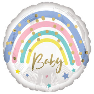 Balon folie Rainbow Baby