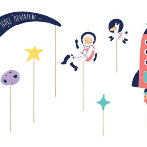 Cake toppers tematica Space