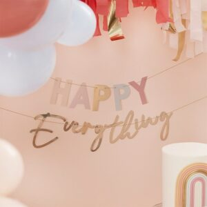 Banner Happy everything, multicolor, 2 x 1,5 m
