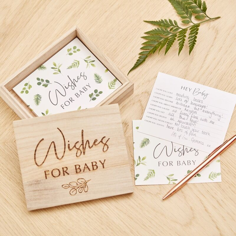Cutie Wishes for baby, 13 x 4 cm